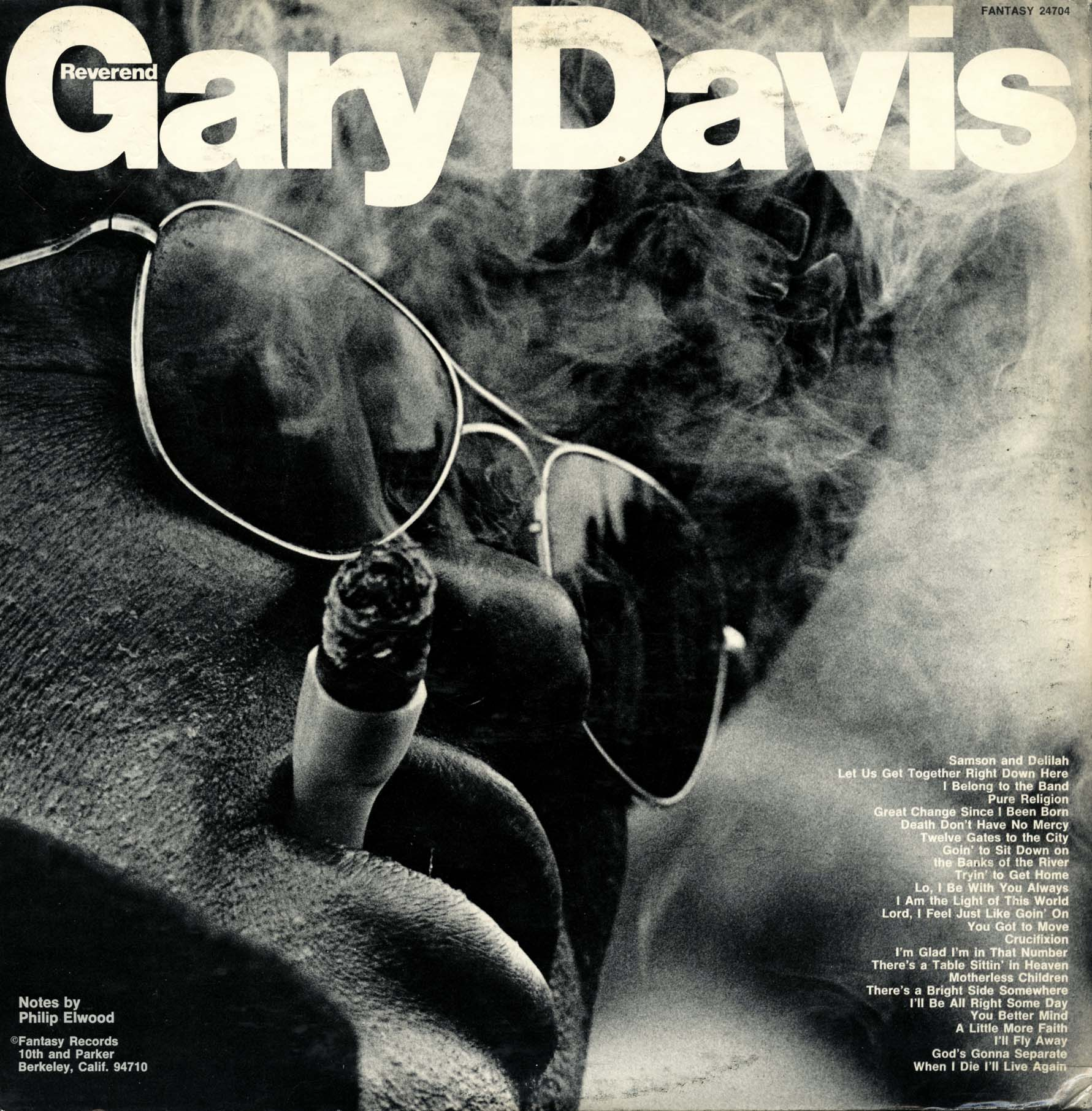 Blind Gary Davis With Sonny Terry The Singing Reverend